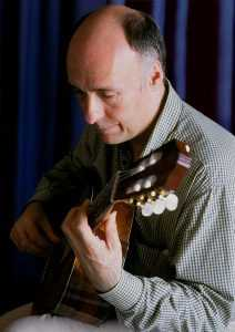 Classical guitarist Carlos Bonell photo by Roy Stedall-Humphryes Spain 2004 IMAGE 2