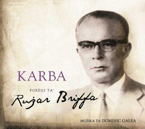 Ruzar Briffa - album cover- Karba