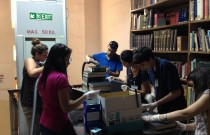 Deloitte send students to help at National Library