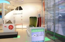 Emirates visitor center ready for take off!