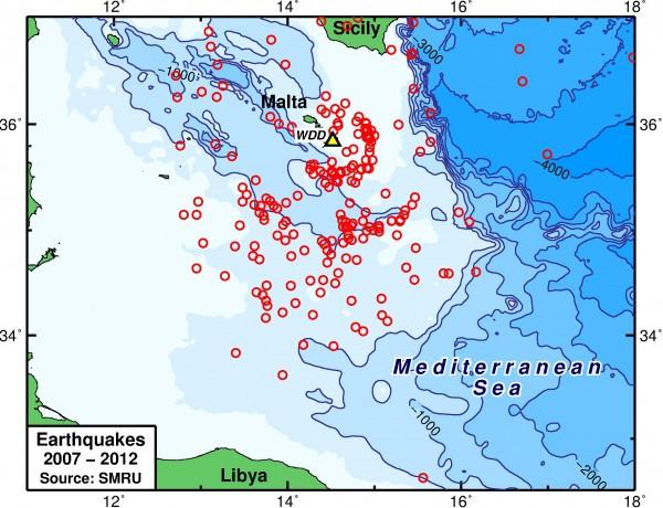 04 – Malta_Seismicity_2007-2012