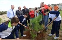 HSBC Malta supports tree planting in Għargħur