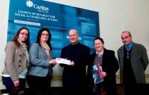 Go donate to Caritas