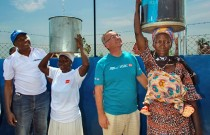 HSBC employees return from Water project in Ghana