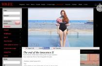 Sef Farrugia and Models M on Vogue Italia