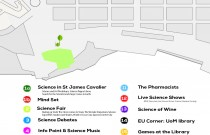Science in the city – details and map