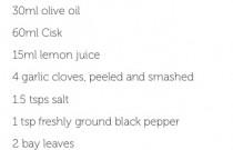 Get sloshed – marinade for fish & meats