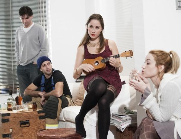 Maxine Aquilina, Thomas Camilleri, Malcolm Galea and Jo Caruana in ALL NEW PEOPLE 2