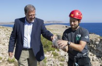 HSBC donation protects vulnerable Yelkouan Shearwater