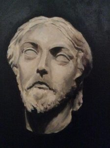 The Christ Oil on Canvas Paul Farrugia