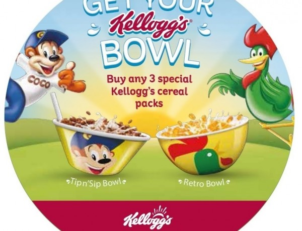 Kellogg's – Back to School – Cereal Bowls Offer