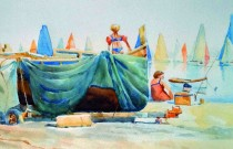 Watercolour exhibition evokes memories and stirs emotions