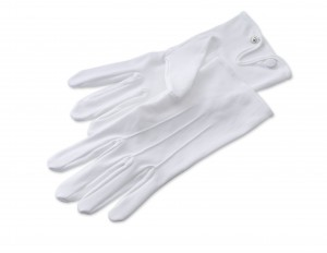 butler white gloves