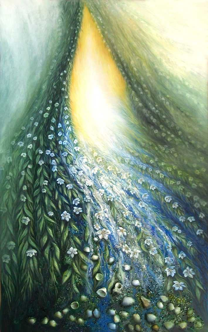 lida-sherafatmand-internal-world-of-goodness-160-x-100cm-oils-on-canvas-2013