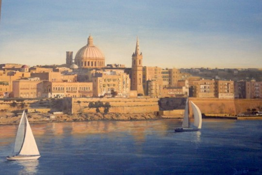 valletta_from_tigne