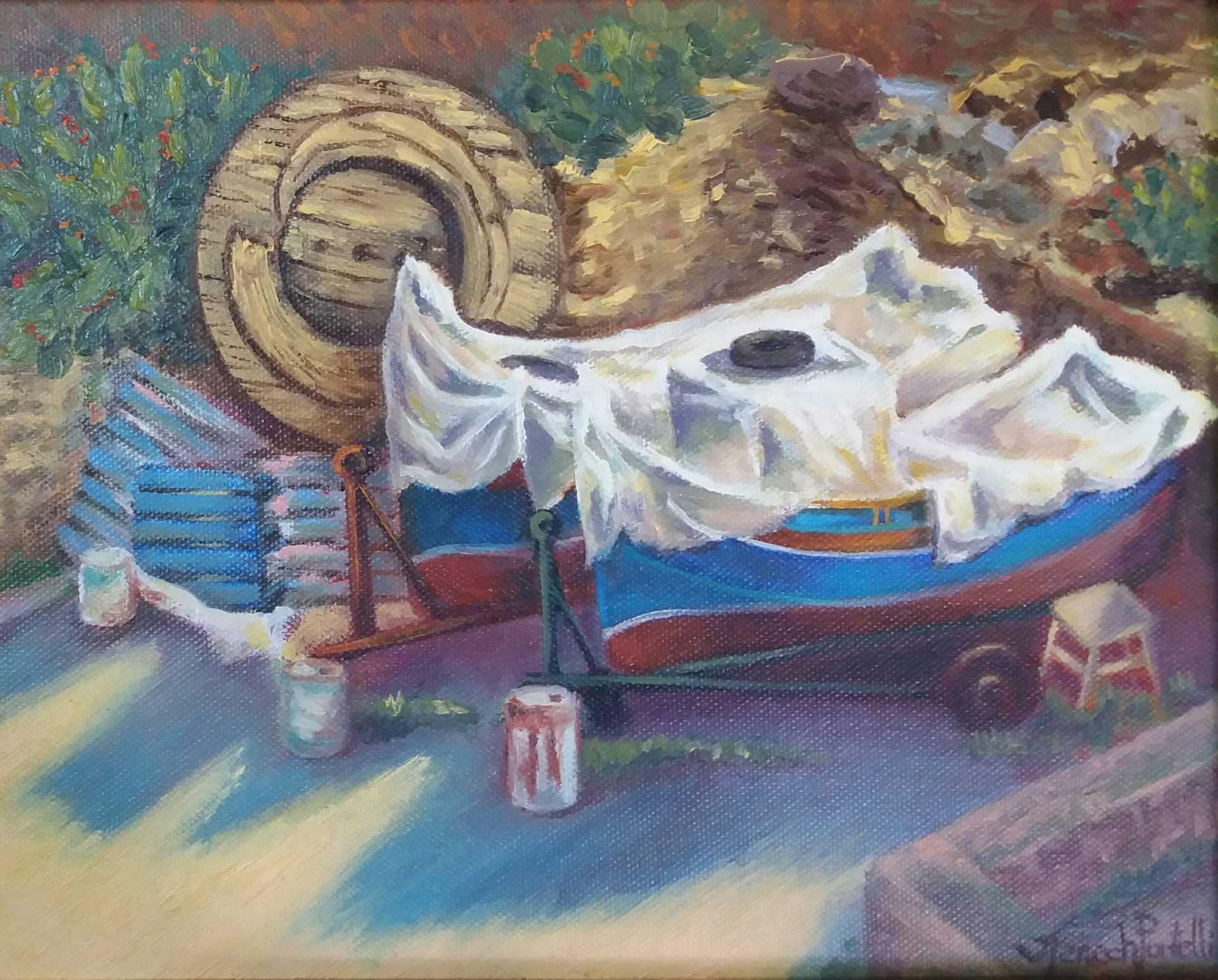 Joanne Fenech Portelli - Boats at Rest