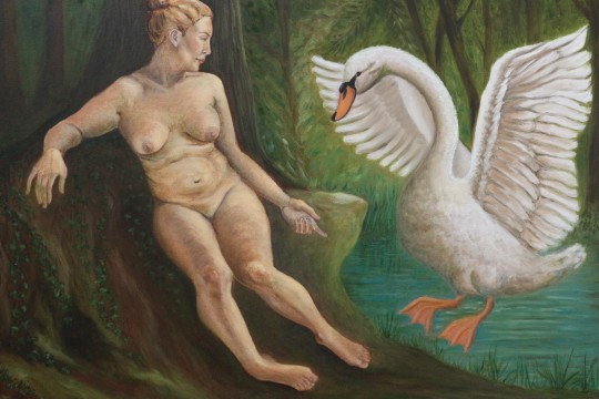 Joanne Fenech Portelli – Leda and the Swan