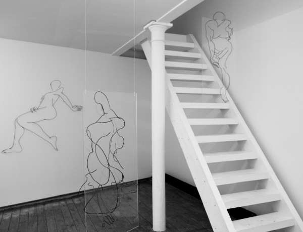 Installation view of You are a Poser