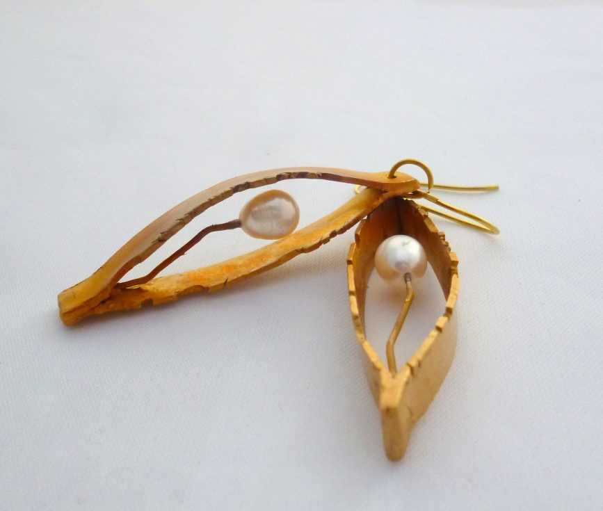 Silvana Mallia - Earrings from Raw Collection