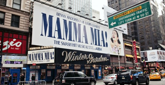 Mamma Mia on Broadway, New York City