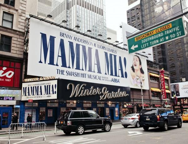 Mamma Mia on Broadway, New York City