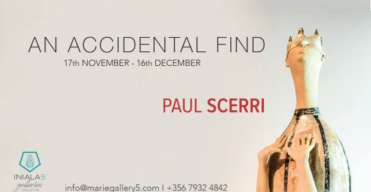 Paul Scerri exhibition