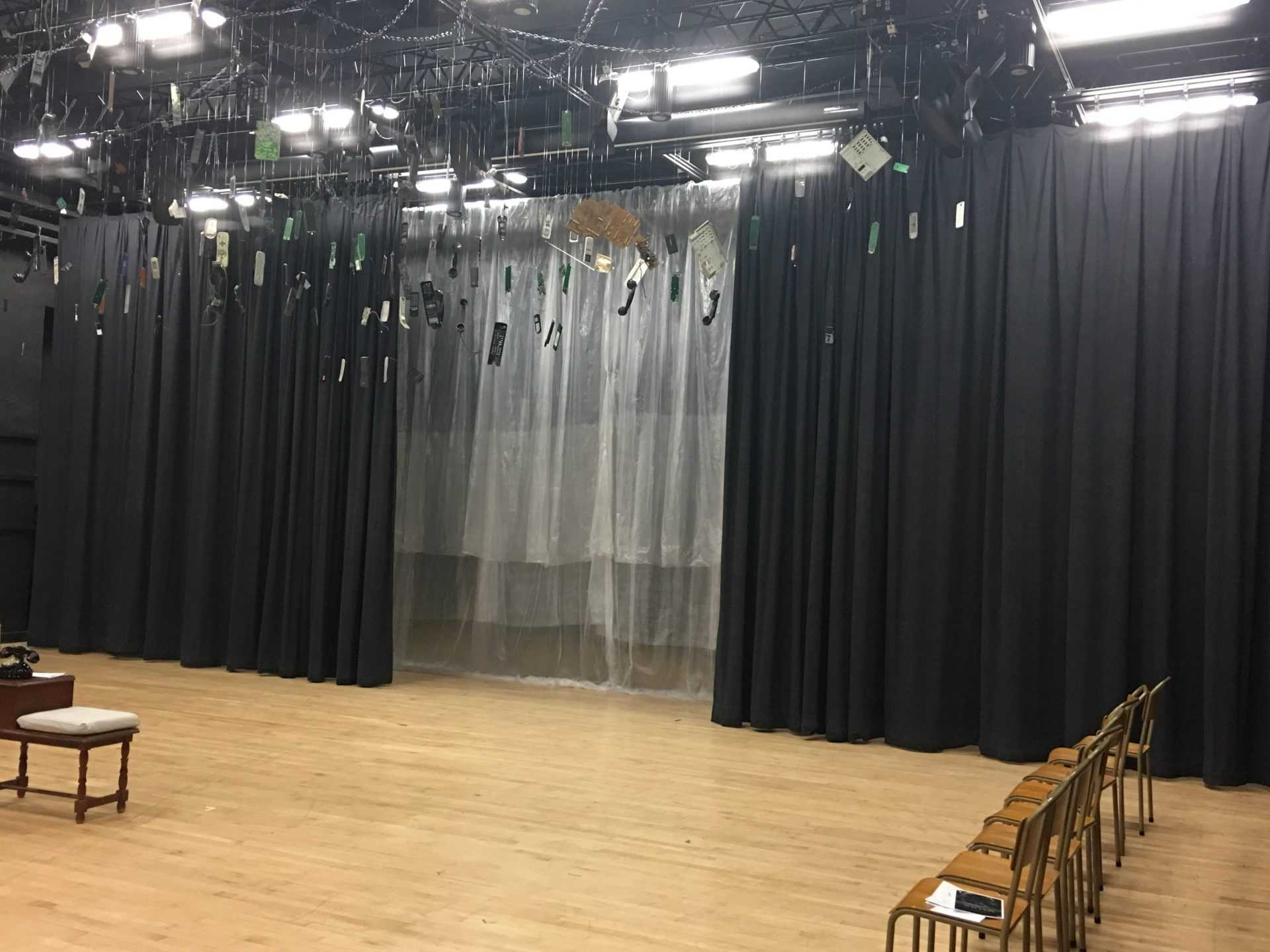 VCT stage bs curtain