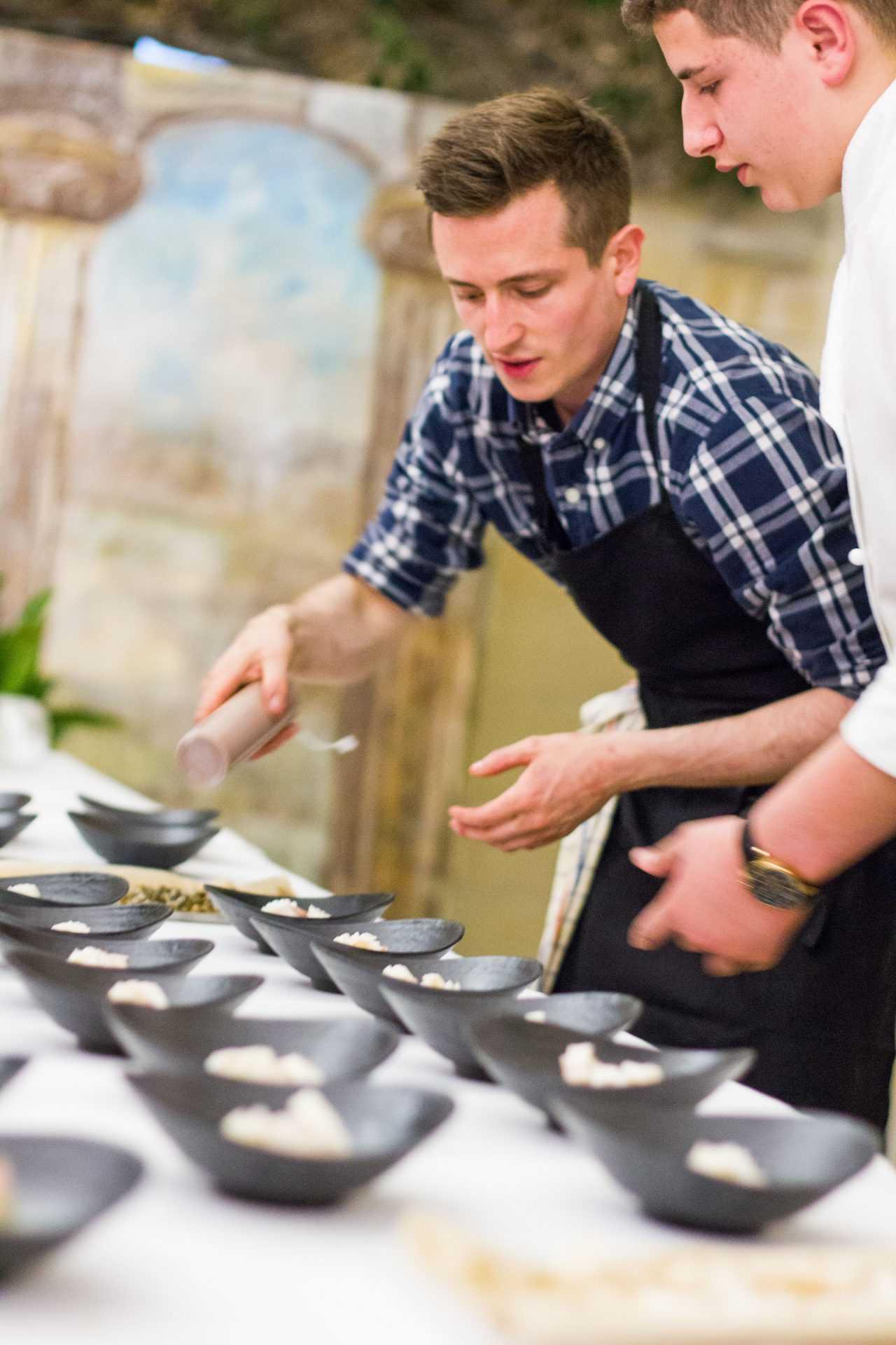 Chef Instructor Stephen La Rosa. Photo credit - Andrea Urso