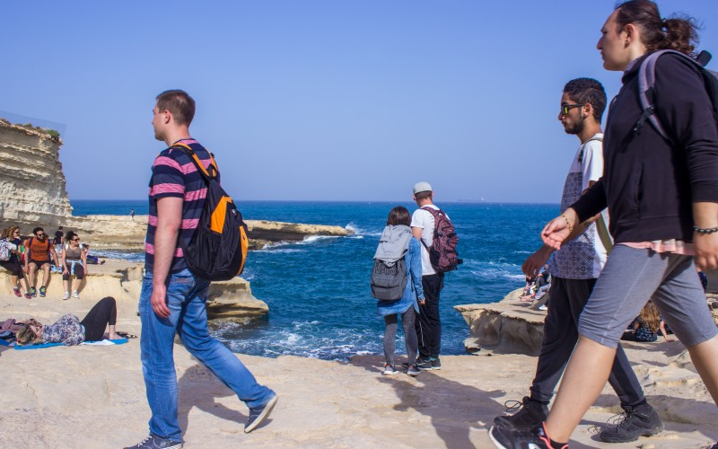 An idea became a tradition: Hike Malta with Ray