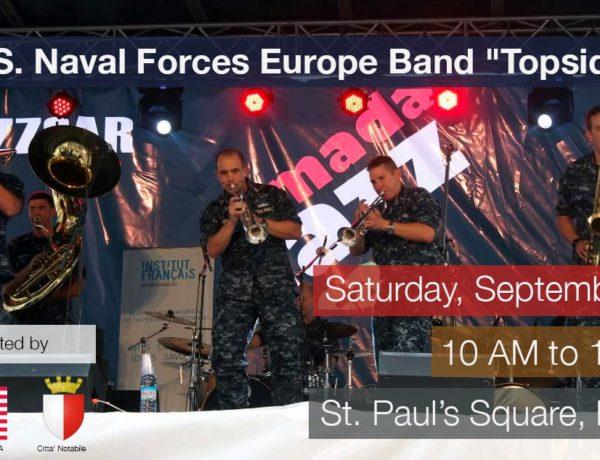 2018-09-22 Navy Band Topside Mdina