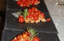 Tasty tomato tart