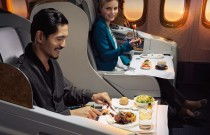 Airline food at it's best