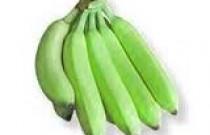 Go crazy for green bananas