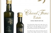 Cheval Franc Estate Extra virgin Olive oil limited edition