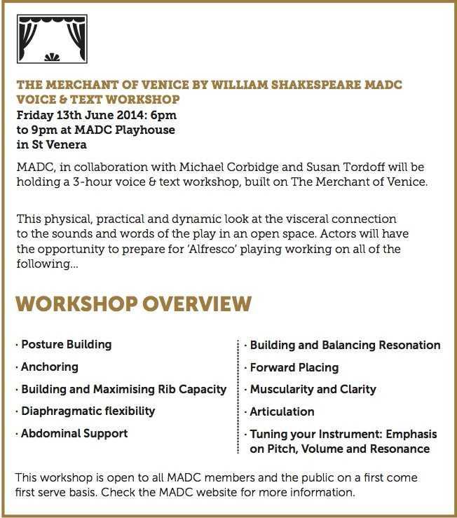 MADC workshop