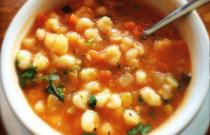 A bowl of Pozole
