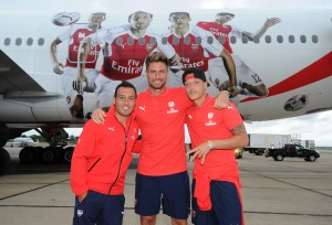 Arsenal Travel to Singapore for the Barclays Asia Trophy