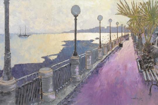 Pink Tiles Promenade Henry Falzon