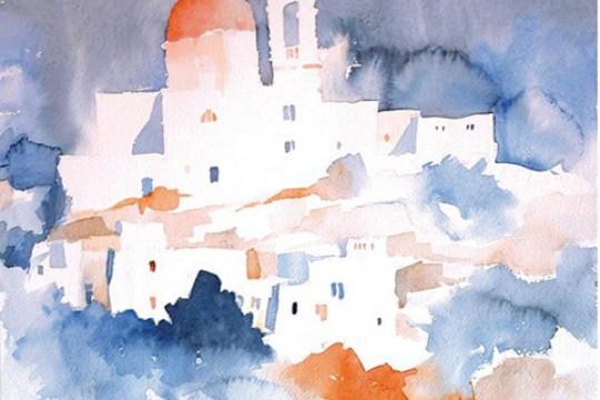 CHURCH IN BLUE Tony Bugeja