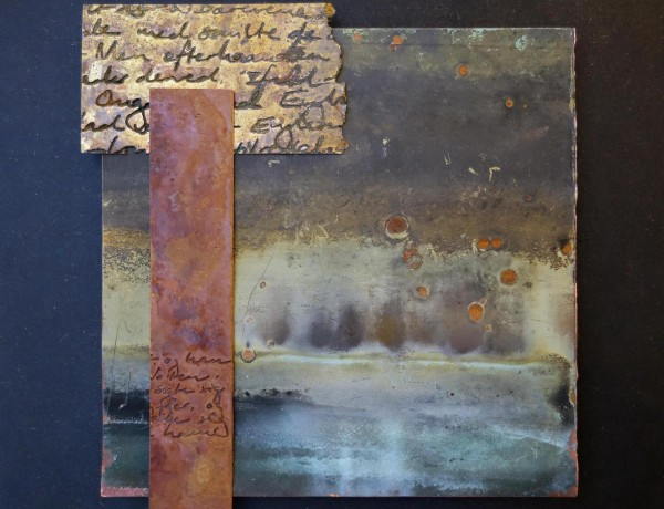 Remnants of a Dream (Metal art) by Marie Louise Kold