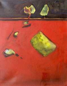 Wied il-Għasel, Mosta, Maltese, artist, art, artwork, Oil on canvas, Mosta,  Jesmond Vassallo
