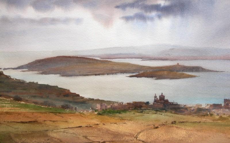John Martin Borg, Painter