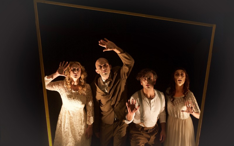 The Shrinking Violets to Stage 'Ernest and the Pale Moon'