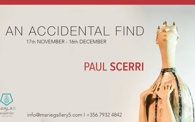 Paul Scerri Exhibition – An Accidental Find