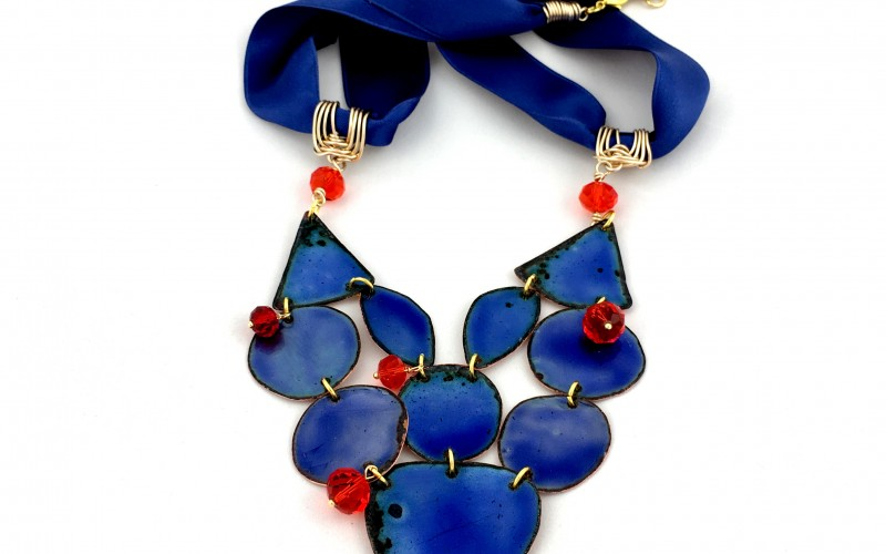Virag Andersson – Enamel artist and Jewellery designer