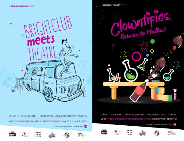 Brightclub Artwork x2