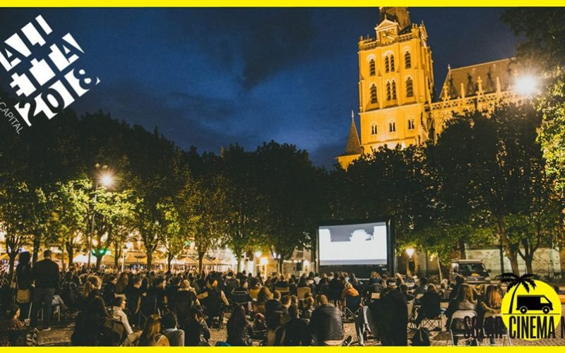The free outdoor Short Films Solar Cinema 2018 event