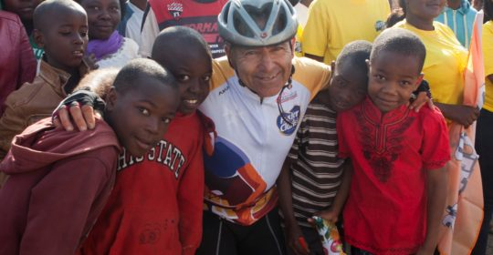 23 – William Saliba during LifeCycle Challenge 2017 in Zambia