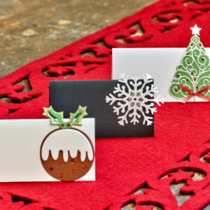 chrsitmas place cards